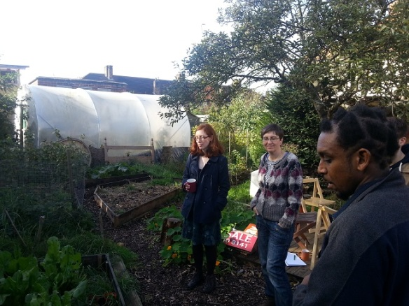 GPS UK team at May Project Gardens